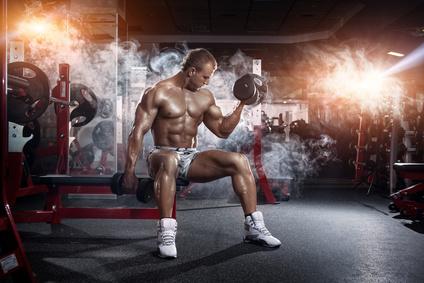 Gezielt Muskeln aufbauen